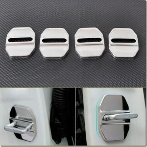 Chrome Striker Plate Covers