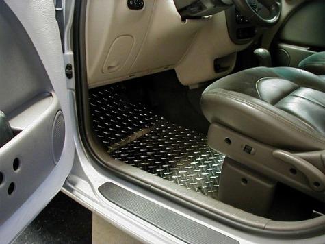 Carpet Floor Mats >> PT Cruiser Diamond Plate Floor Mats » Cruiser Motorsports